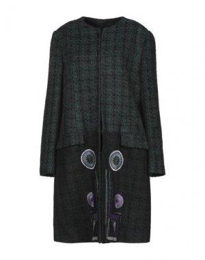 Пальто PIANURASTUDIO. Цвет: темно-зеленый