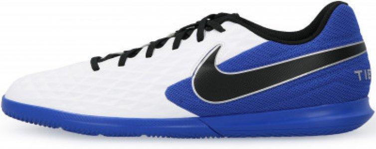 Бутсы мужские Legend 8 Club IC, размер 39.5 Nike. Цвет: белый