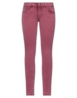 Повседневные брюки CYCLE. Цвет: пастельно-розовый