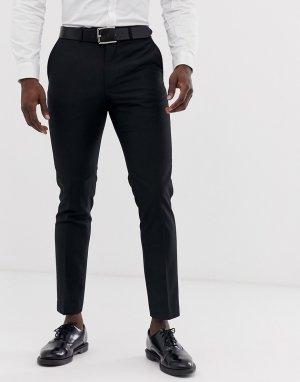Узкие брюки под смокинг -Черный French Connection