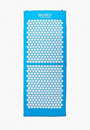 Массажер для тела Bradex коврик акупунктурный, 125х50х2 см. Цвет: голубой