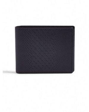 Бумажник TOPMAN. Цвет: черный