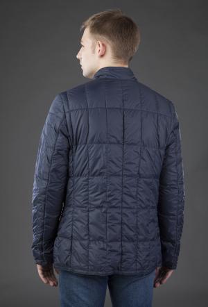 Облегченная мужская куртка на пуху AFG. Цвет: синий