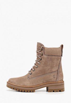 Тимберленды Timberland Courmayeur Boot. Цвет: бежевый