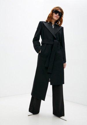 Пальто Just Cavalli. Цвет: черный