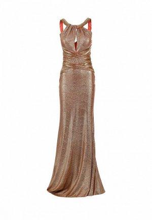 Платье Corleone. Цвет: бронзовый