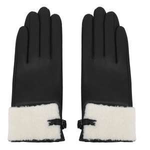 Перчатки Alla Pugachova AP33010-black-21Z. Цвет: черный