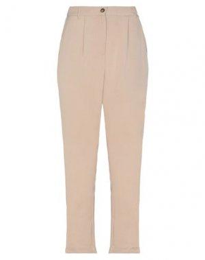 Повседневные брюки GAUDÌ. Цвет: бежевый