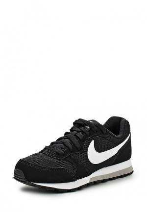 Кроссовки Nike BOYS MD RUNNER 2 (GS) SHOE. Цвет: черный