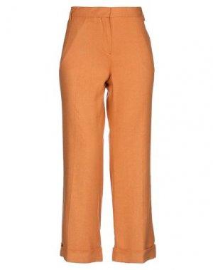 Брюки-капри BOGLIOLI. Цвет: оранжевый