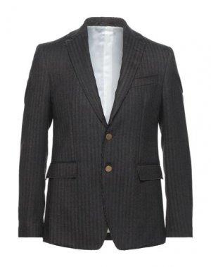 Пиджак MAURO GRIFONI. Цвет: темно-коричневый
