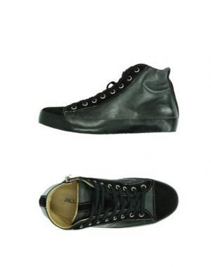 Высокие кеды и кроссовки ALLUMINIO. Цвет: черный