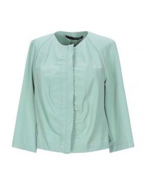 Пиджак ANNARITA N. Цвет: светло-зеленый