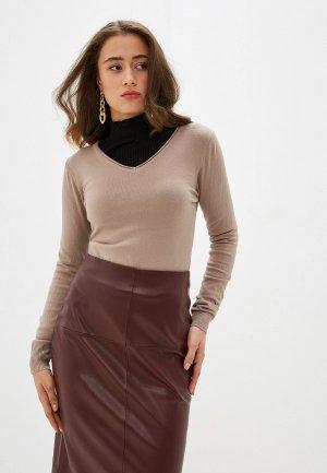 Пуловер Viserdi. Цвет: бежевый