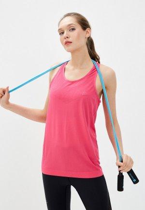 Майка спортивная Craft FUSEKNIT LIGHT SINGLET. Цвет: розовый