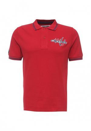 Поло Atributika & Club™ NHL Washington Capitals. Цвет: красный