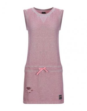 Короткое платье F**K PROJECT. Цвет: пастельно-розовый