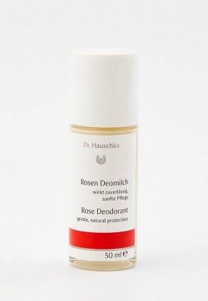 Дезодорант Dr. Hauschka Роза, 50 мл. Цвет: прозрачный