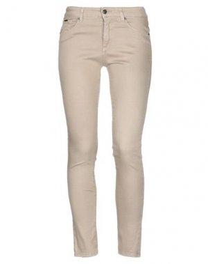 Джинсовые брюки MICHAEL COAL. Цвет: бежевый