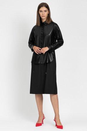 Платье миди VASSA&Co. Цвет: черный