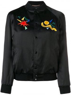 Куртка-бомбер Saint Laurent