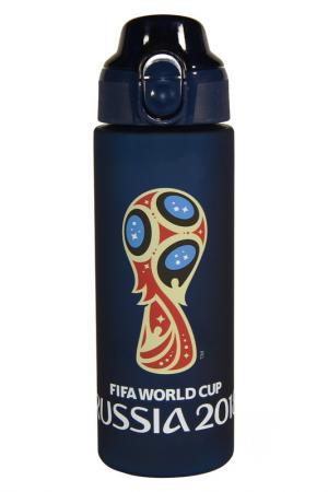 Бутылка 0,6 л FIFA licensed products. Цвет: синий