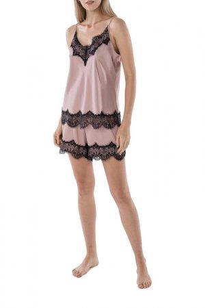 Пижама Argent. Цвет: пудровый