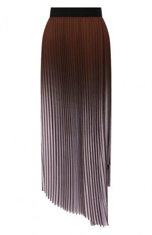 Плиссированная юбка By Malene Birger. Цвет: сиреневый