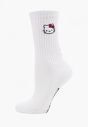 Носки GCDS HELLO KITTY. Цвет: белый