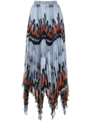 Плиссированная юбка Isobel Altuzarra. Цвет: разноцветный