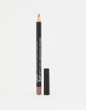 Матовые подводки для губ Suede (Lavender and Lace)-Розовый NYX Professional Makeup