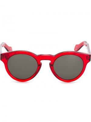 Солнцезащитные очки Marte Monocle Eyewear. Цвет: красный