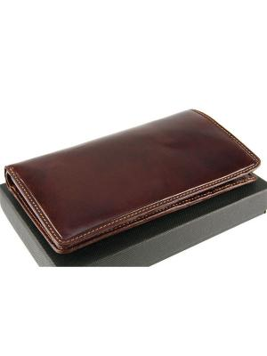 Бумажник Modena Visconti. Цвет: рыжий