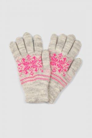 Перчатки baon. Цвет: розовый
