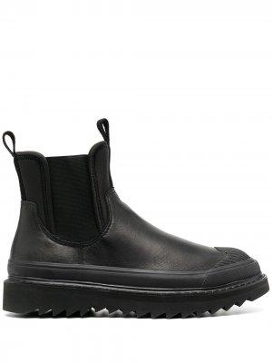 Ботинки челси Diesel. Цвет: черный