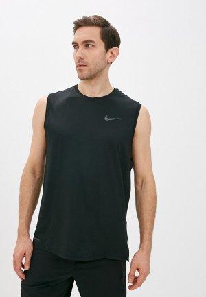 Майка спортивная Nike M NP DF HPR DRY TOP TANK. Цвет: черный