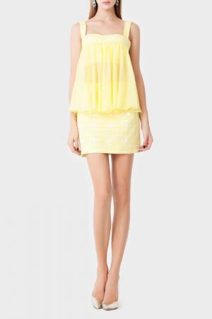Топ Isabel Garcia. Цвет: yellow