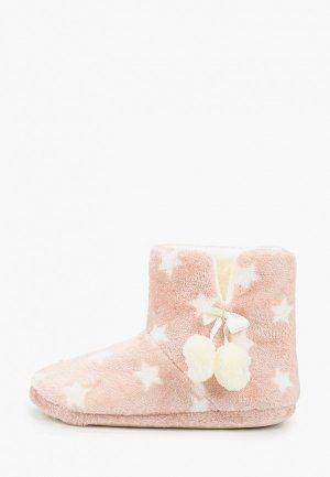 Тапочки DeFacto. Цвет: розовый