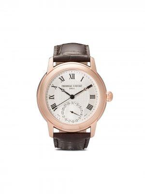 Наручные часы Classic 42 мм Frédérique Constant. Цвет: белый