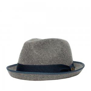 Шляпа хомбург GOORIN BROTHERS. Цвет: серый