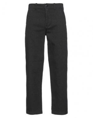 Джинсовые брюки STUSSY. Цвет: черный