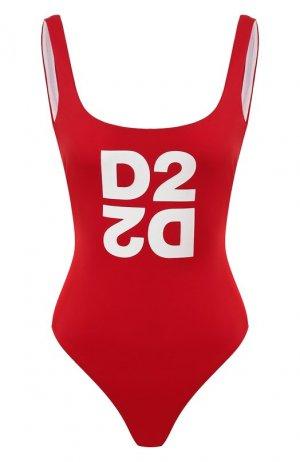 Слитный купальник Dsquared2. Цвет: красный