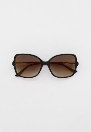 Очки солнцезащитные Jimmy Choo JUDY/S 807. Цвет: черный