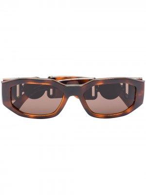 Солнцезащитные очки Medusa Biggie Versace Eyewear. Цвет: коричневый