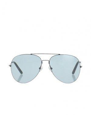 Солнечные очки MATTHEW WILLIAMSON. Цвет: черный