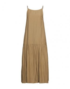 Платье миди CARACTÈRE. Цвет: хаки