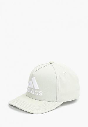 Бейсболка adidas H90 LOGO CAP. Цвет: серый