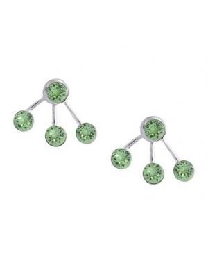 Серьги CA&LOU. Цвет: светло-зеленый