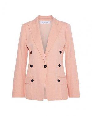 Пиджак DEREK LAM 10 CROSBY. Цвет: лососево-розовый