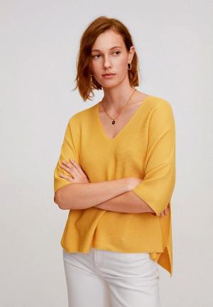 Пуловер Mango - INES. Цвет: желтый